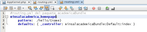 routing.yml academicaBundle